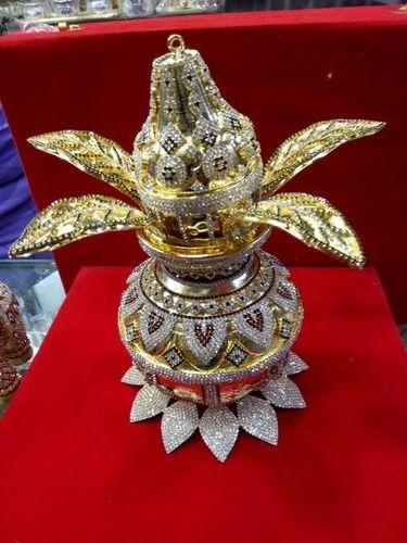 24k Gold Plated Kalash