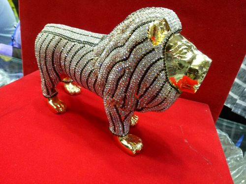 24K Gold Plated Lion