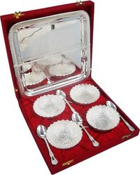 Silver Plated Bowl Set