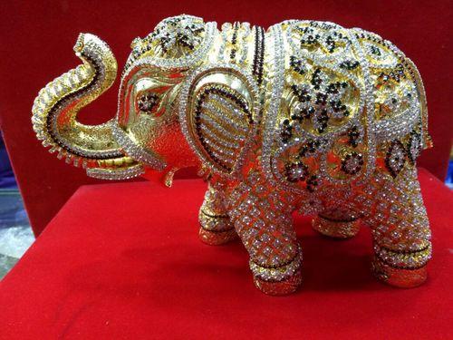 25K Gold Plated Elephant
