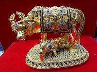 24K Gold Plated Nandi