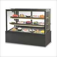 Celfrost Flat Glass Cold Showcase (Base   2 Shelves)