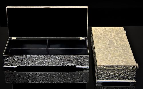Silver Plated Jewelry Case