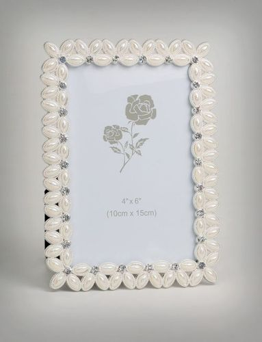 Designer Silver Plated Photo frame