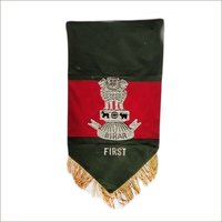 Embroidery Military T Flag