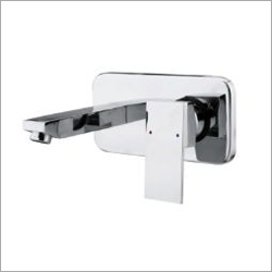 Square Wall Mounted Single Lever Basin Mixer
