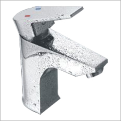 Square Single Lever Basin Mixer