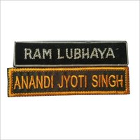 Army Embroidery Name Plate