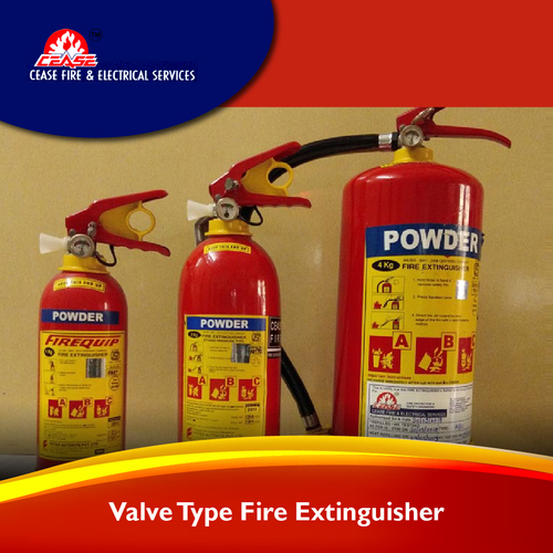 Squeeze Grip/ valve type Fire Extinguisher