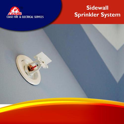 Sidewall sprinkler system