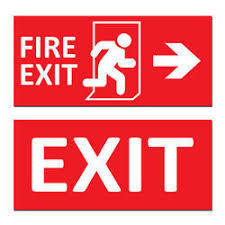 Emergency Sign Boards