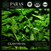 Cilantro (Coriander Leaf) Oil