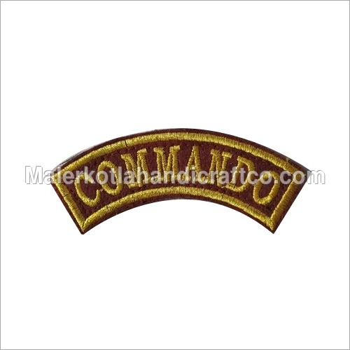 Shoulder Name Plate