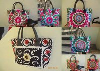 Suzani Embroidered Bags