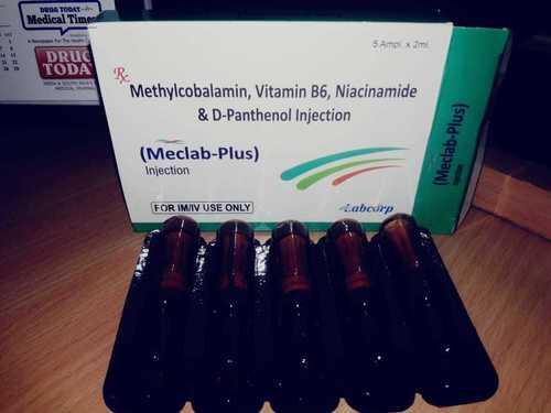 Mecobalamin1500 mcg + Vit B1 + Vit B6 + Niacinamide + D Panthenol