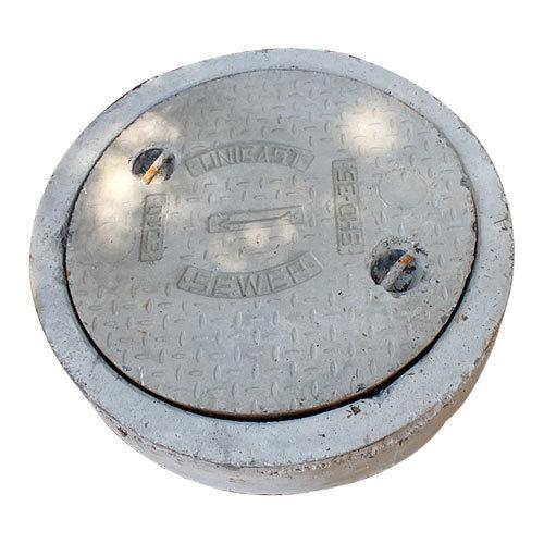 Circular Frame With Circular Cover Manhole