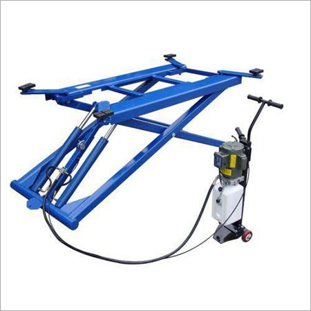 Car Washing Scissor Lift