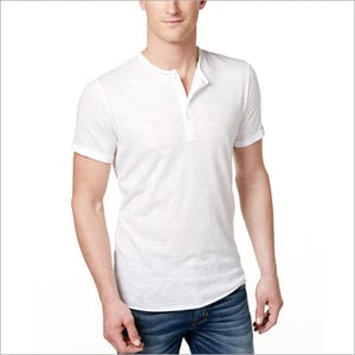 Henley Neck Half sleeves tshirt
