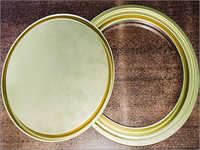 Gold Lacquer Paint Tin Component