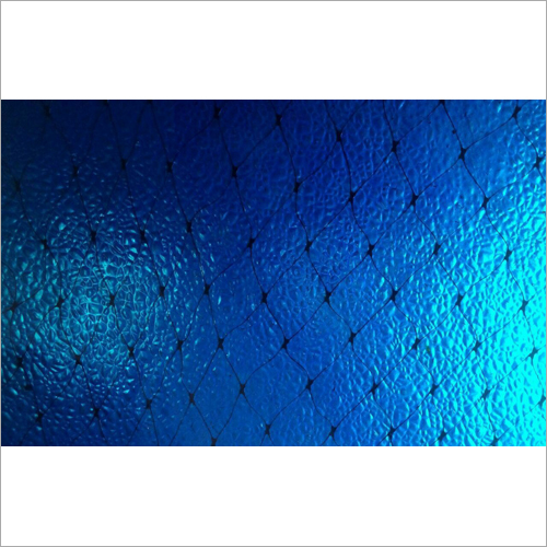 Blue Printed Fiber Sheet