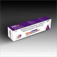 diclofenac Menthol gel