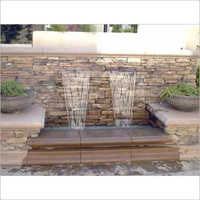 Outdoor Waterfalls Fountains