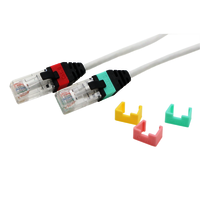 Cat6 UTP 28AWG Patch Cord With Clips