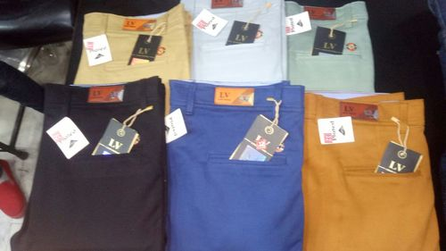 Men Plain Trouser