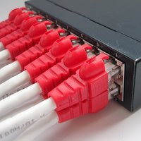 Cat6A UTP 26AWG RJ45 Easy Ethernet Patch Cord