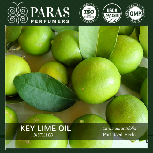 Distilled Key Lime Oil