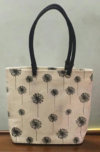 Zipper Closure Jute Tote Bags