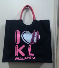Logo Printed Jute Tote Bags