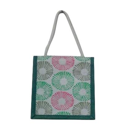 Coloured Jute Tote Bags