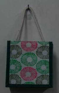 Coloured Jute Tote Bags