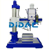 Geared Radial Drilling Machine Single Column Double Column
