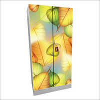 2 Door Leaf Print Almirah