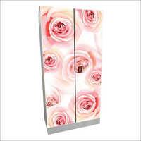 2 Door Designer Print Almirah