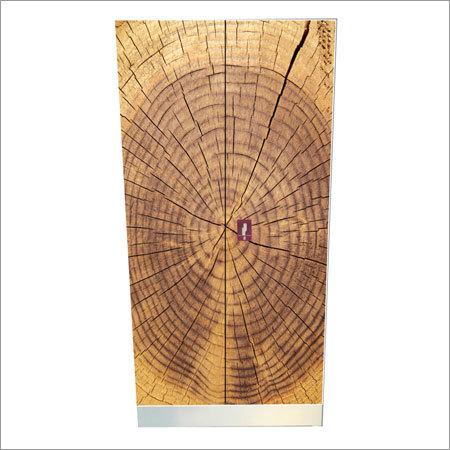 Wooden Print Double Door Almirah