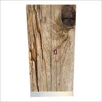 Wooden Print 2 Door Almirah