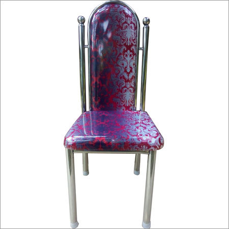 Steel High Back Chair