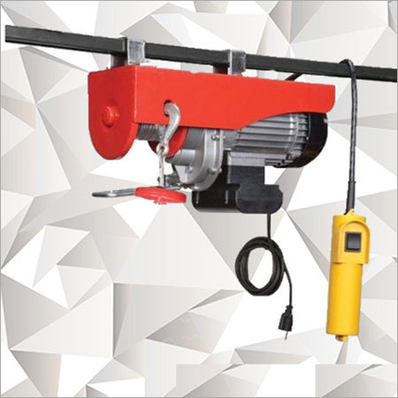 Electric Ceiling Chain Hoist Supplier & Trader In Ahmedabad,Gujarat