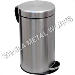 SS Dust Bins - Plain with Paddle