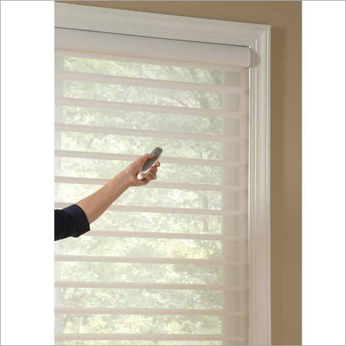Motorized Horizontal Window Blinds