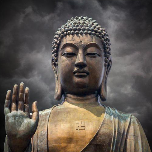 3D Buddha Customized Paper