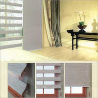 Open Roman Blinds