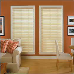 Open Roman Window Blinds