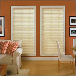 Open Roman Window Blinds