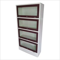 4 door bookcase