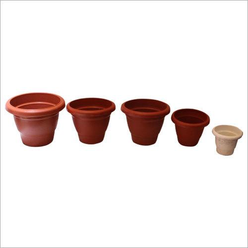 Plain Plastic Flower Pot