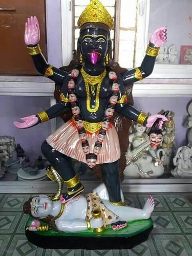 Marble Maa Kali Statues